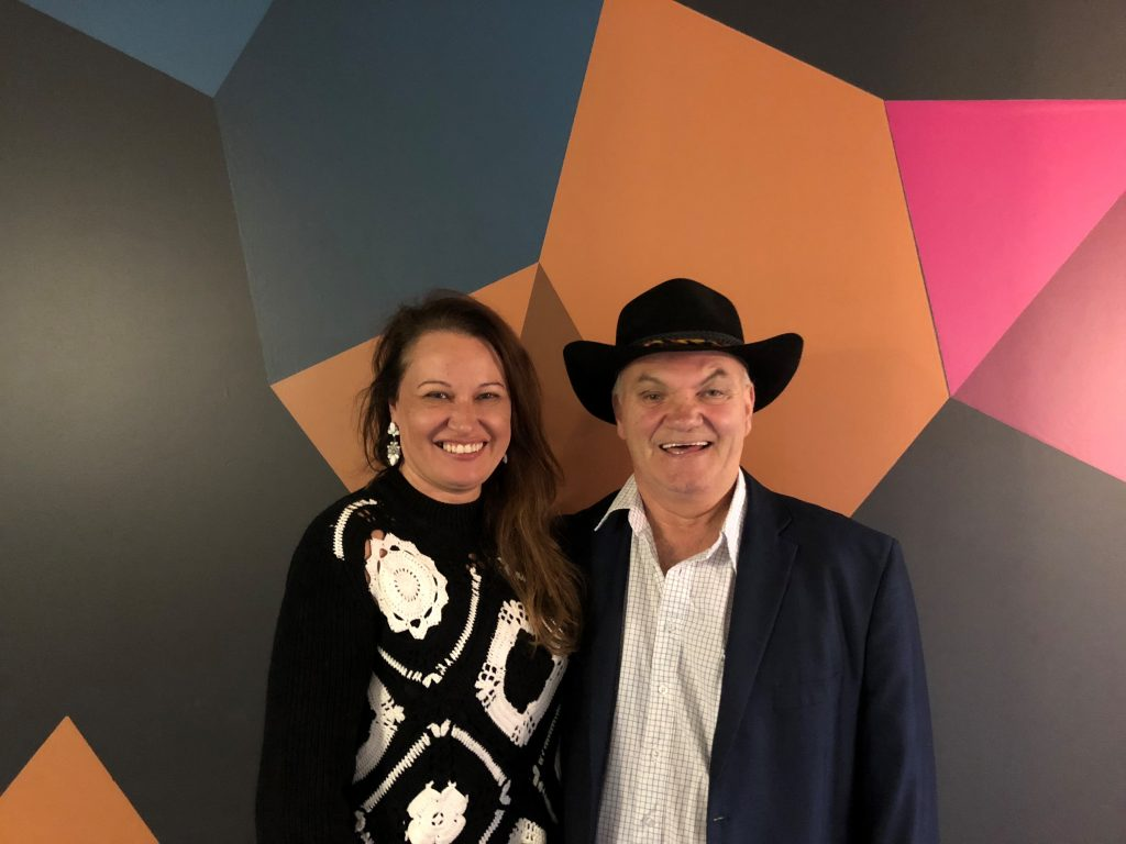 Jack Beetson and Larissa Behrendt (Photo courtesy ABC).